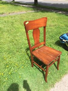 Wooden chair, pick up West side