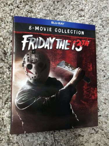 NEW Friday the 13th 8-Movie Collection Blu-ray with Slipcover RARE OOP