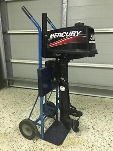 Mercury Outboard Motor (barely used!!!) Norman Park Brisbane South East Preview