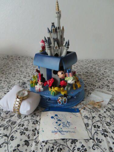 disney #253/5000 30th Anniversary Commemorative Watch Castle
