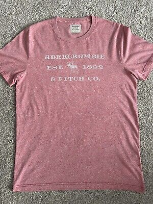 Abercrombie & Fitch - Men's red Tshirt - Excellent Condition size m