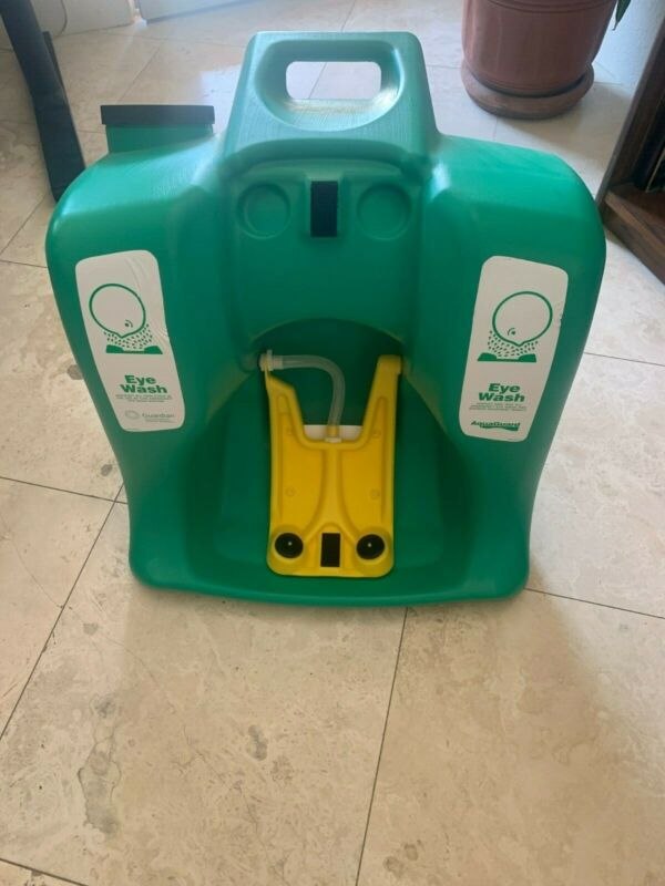 Gaurdian 16 Gallon Portable Eye Wash Station Great Condition