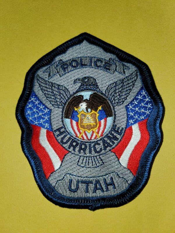 HURRICANE UTAH UT POLICE PATCH