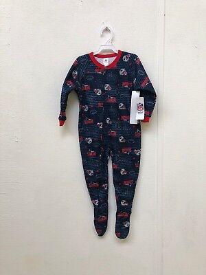New England Patriots NFL Kid's Club Pyjamas - 3 Years - Navy - New