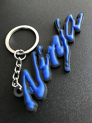 Kawasaki Ninja Keychain Blue & Black. New As Pictures