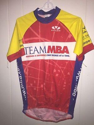 Men s Team MBA Bicycle Racing Voler Cycling Shirt large Capt Bliss Tribute c7b153db5