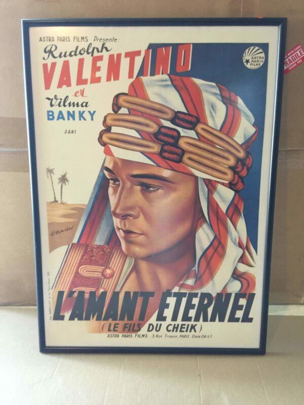 Son Of The Sheik - Rudolph Valentino - Art by Vandor (R1930