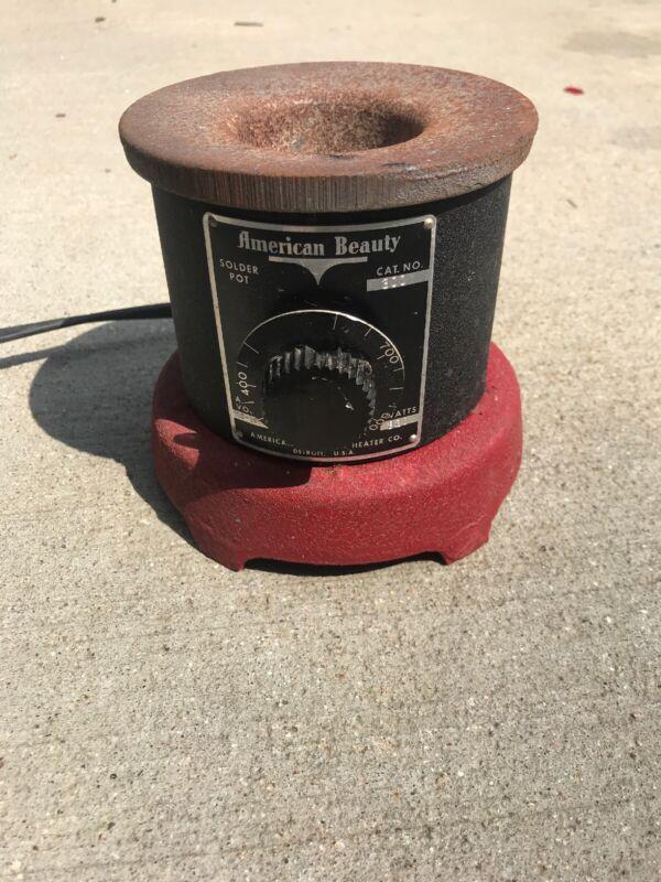 American Beauty General Purpose Solder Pot Model 300 (120V/320W) Soldering