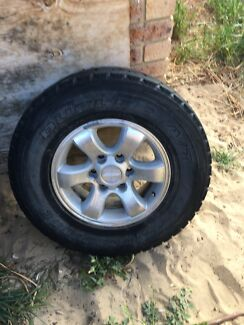 4x4 rims and tyres  Beldon Joondalup Area Preview