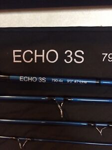 Echo 3s 7wt fly rod for sale