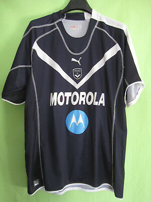 Maillot Girondins de Bordeaux Motorola 2005 Puma Vintage Jersey football - XL image