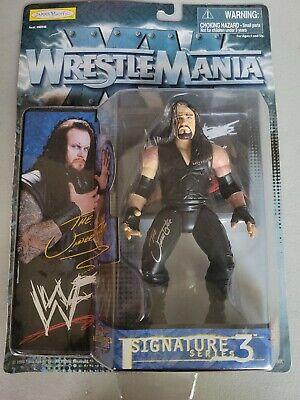WWF/WWE Wrestlemania 15/XV signature Series 3 Undertaker Action Figure