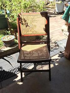 4 x folding chairs (all different chairs) Daceyville Botany Bay Area Preview