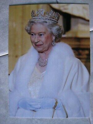 Karte Königin Queen Elizabeth von England - ADEL