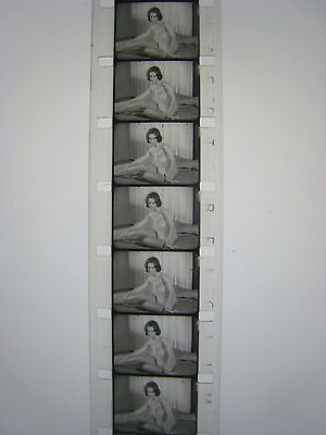 VINTAGE 1950S '' PINUP GIRL '' 16mm Film...RISQUE,STAG,..# SG-99A