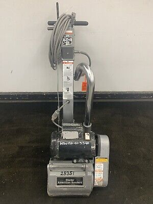 Used Floor Sander Clarke Ez-8 Expandable Drum Hardwood Refinishing Professional