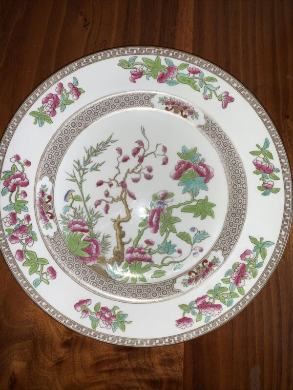"""Spode Copelands China Indian Tree 9"""" Luncheon Plate"""