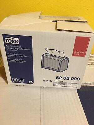 Tork Xpressnap 4 Dispensers Tabletop Napkin Dispenser Blacksilver Trk6235000