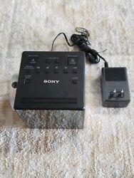 Sony ICF-C1PJ AM/FM Dual Alarm Clock Radio Nature Sound Time Projection WORKS