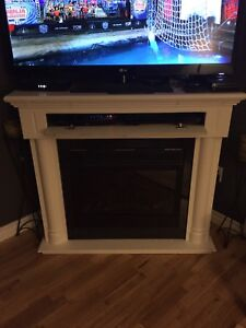 Electric fireplace - tv stand