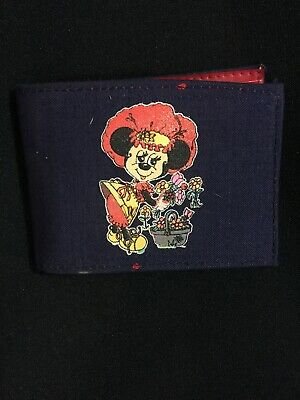 "DISNEY ""PRETTY MINNIE MOUSE"" VINTAGE WALLET"