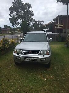 Mitsubishi Pajero Exceed 2001 Wyongah Wyong Area Preview