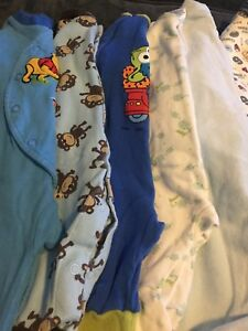 3 month boys sleepers 6 pc