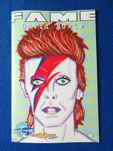 FAME DAVID BOWIE #1  EXCLUSIVE VARIANT BLUEWATER COMIC LAST ONE