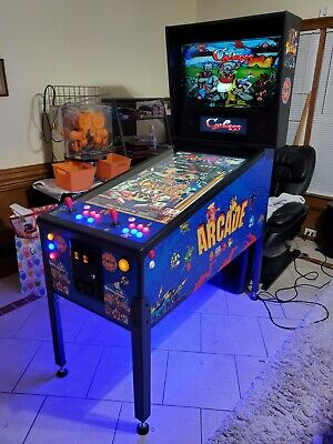 Full Size Virtual Pinball with Arcade games!