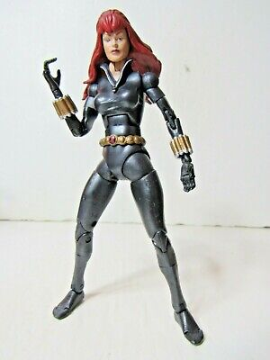 "Marvel Legends series 8 Black Widow 6"" inch Action Figure Toybiz"