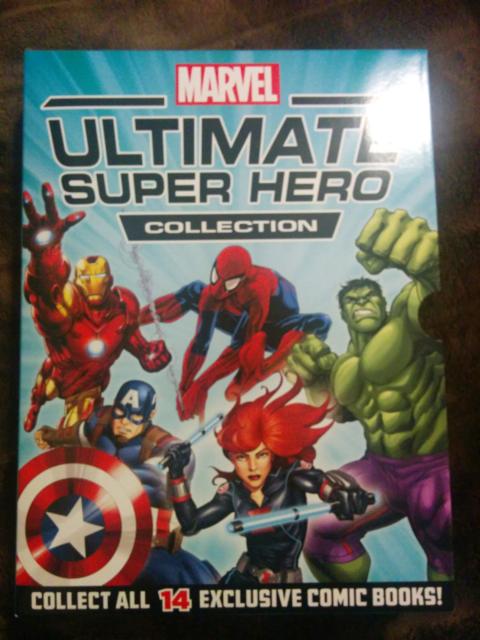 14 Marvel Ultimate Superhero Collection Comics Comic