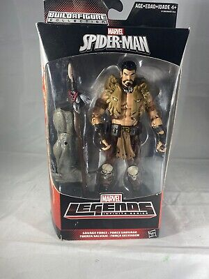 Kraven Marvel Legends Action Figure Marvel BAF Rhino NEW SEALED Spider-Man