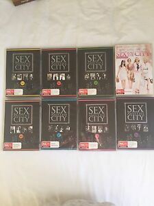 Sex and the city DVD set Redcliffe Redcliffe Area Preview