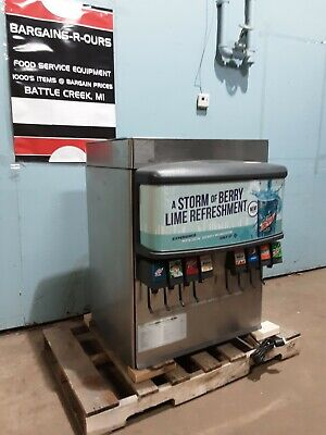 Lancer Counter-top H.d. Commercial Lighted 8 Heads Soda Wice Dispenser