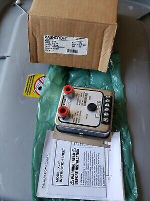 Ashcroft Xldp 0.25 Wc Differential Pressure Transmitter