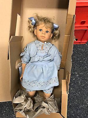 Elisabeth Lindner Puppe Lison 52 cm. Top Zustand.
