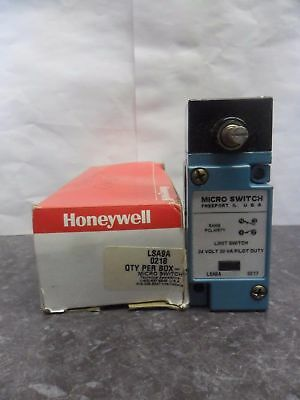 New Honeywell Lsa9a Micro Limit Switch 24 Volts Nib