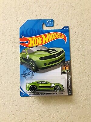 2020 Hot Wheels Dream Garage 2013 Chevy Camaro Special Edition Treasure Hunt