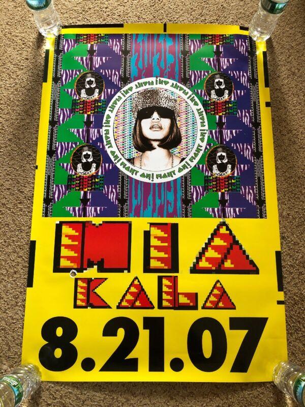 MIA M.I.A Kala RARE Original Album Promo Poster 2x3'