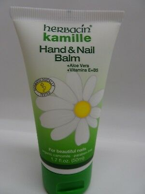 Herbacin Kamile Hand & Nail Balm Aloe Vera & Vitamins E + B5 1.7 oz