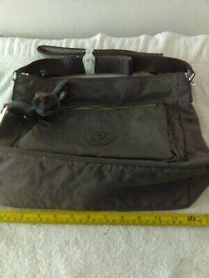 Kipling cross body bag dayir brand new in fading sky colour (dark grey)