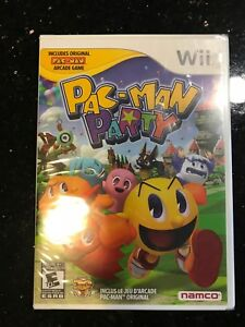 Wii pac man party game