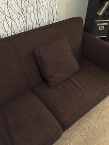 Brown couch for sale. $150 obo