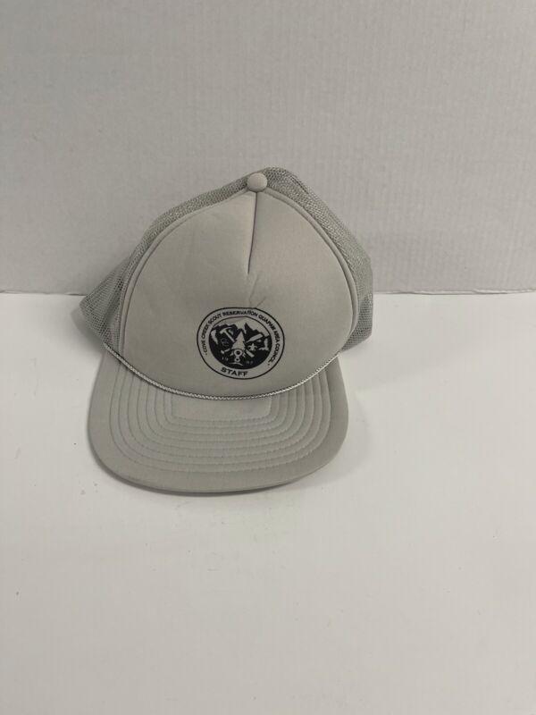 Vintage BSA Cap Trucker Hat 1997 Cove Creek Quapaw Snap/Meshback San Sun