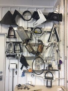 Used Polaris Pro RMK and Assault parts