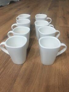 8 coffee mugs
