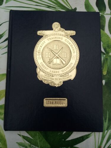 """""""The Keel"""" hardcover from 1997, Navy Recruit Training - Great Lakes, IL 97-126"""