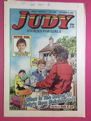 JUDY - Stories For Girls - No.1553 - October 14, 1989 - Comic Style Magazine