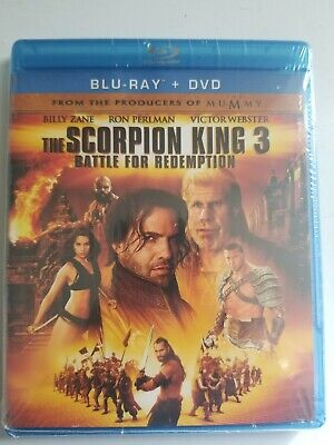 The Scorpion King 3: Battle for Redemption (Blu-ray/DVD, 2012, 2-Disc