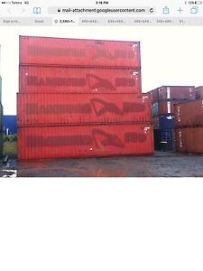 Shipping containers 40 ft cargo worthy supplied & delivered Braidwood Palerang Area Preview